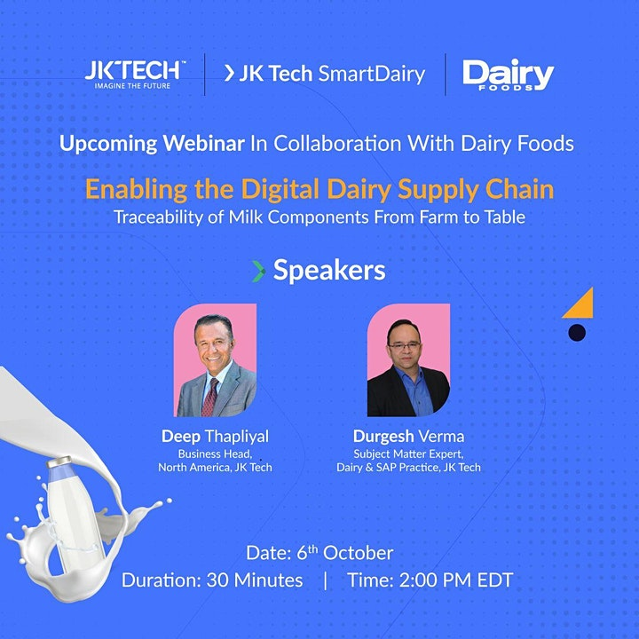 [Webinar] - Enabling the Digital Dairy Supply Chain image