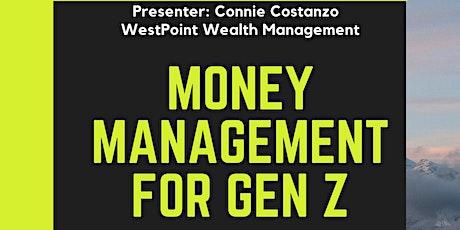 Money Management for Gen Z tickets