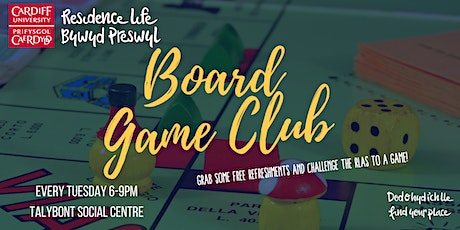 Talybont Board Game Night tickets