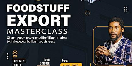 Foodstuff Export Masterclass tickets