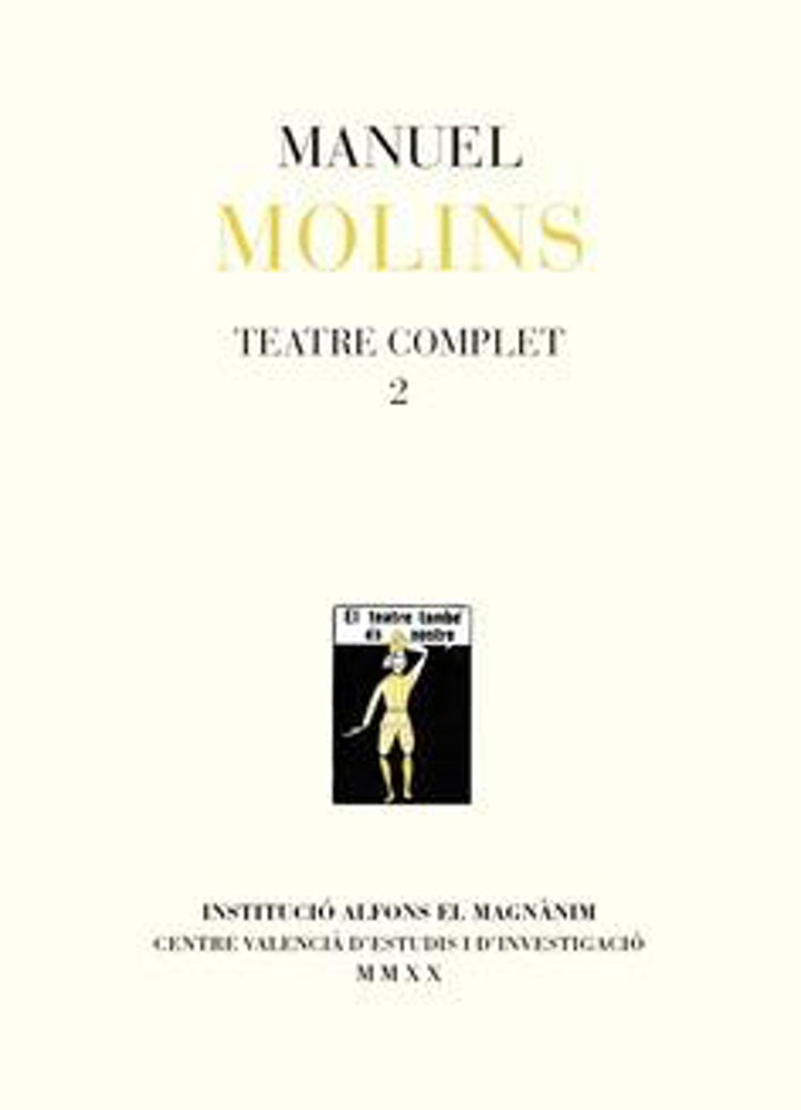 Imagen de Teatre complet 2, Manolo Molins (Institució Alfons el Magnànim)