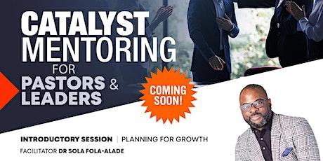 Catalyst Mentoring Programme tickets