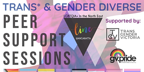Trans and Gender Diverse Peer Support tickets