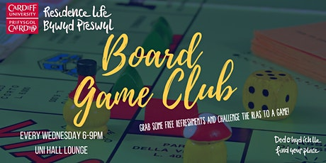 Uni Hall Board Game Night tickets