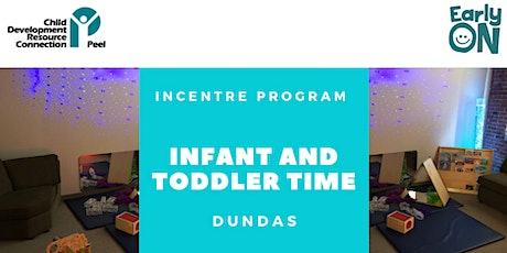 IN CENTRE PROGRAM - Infant and Toddler Time (Birth - 30 months) tickets