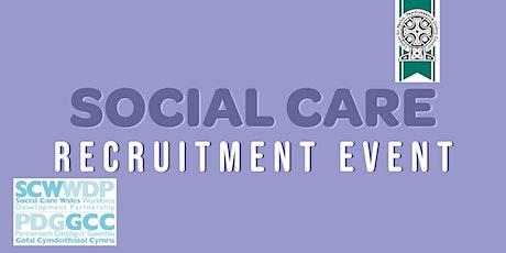 Social Care Recruitment Event - Pembrokeshire tickets