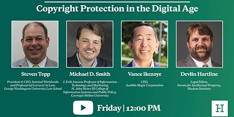 Virtual Event | Copyright Protection in the Digital Age tickets