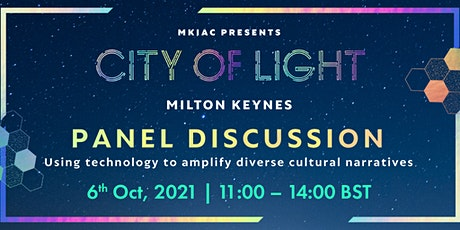 Panel Discussion: Using technology to amplify diverse cultural narratives tickets