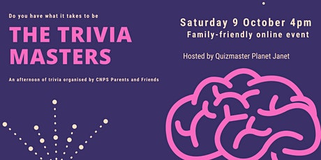 CNPS Parents and Friends Trivia Afternoon tickets