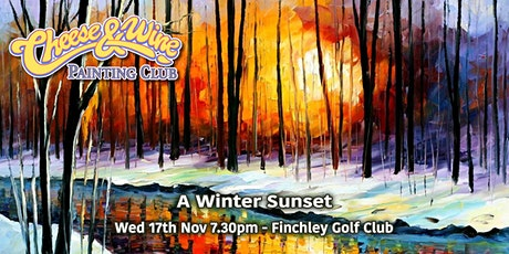 Paint  'Winter Sunset' at Finchley Golf Club tickets