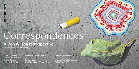 The Artist Workshop | Correspondences, a Ben Wilson Retrospective tickets