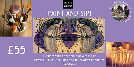 Paint & Sip @ Mackintosh at the Willow tickets