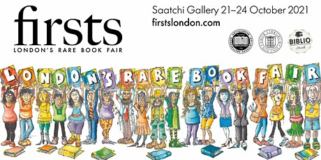 Firsts, London's Rare Book Fair (Friday 22 October Entry) tickets