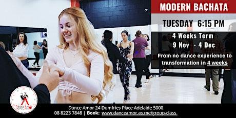 Modern Bachata Beginners Dance Class Adelaide - Tues 6:15 PM - 9 Nov tickets