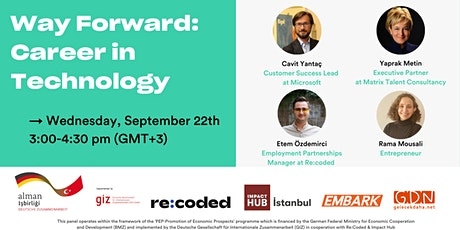 Way Forward: Career in Technology tickets