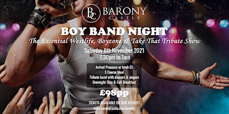 Boy Band Night tickets