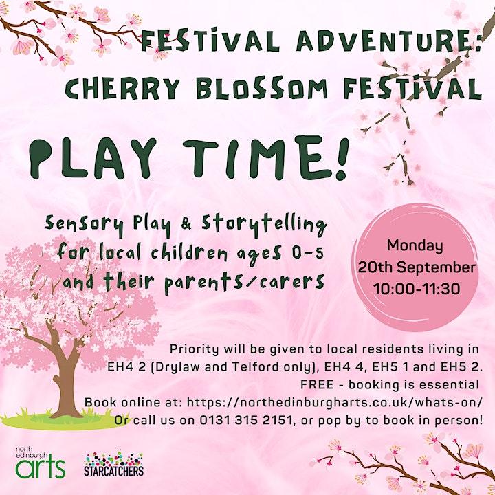 Festival Adventure - Cherry Blossom (Ages 0-5 + Parent/Carer) image