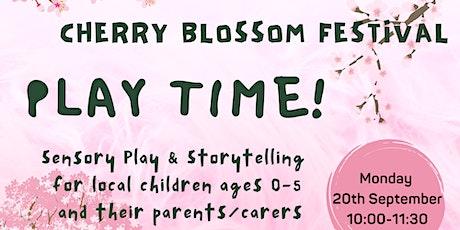 Festival Adventure - Cherry Blossom (Ages 0-5 + Parent/Carer) tickets