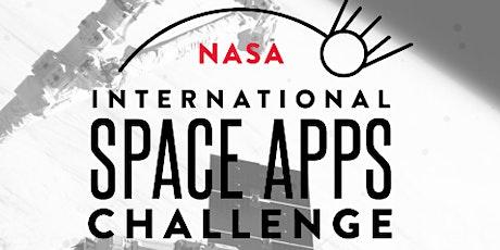 NASA Space App Challenge - Scotland briefing event tickets