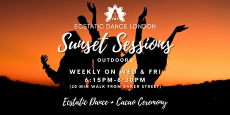 Ecstatic Dance London SUNSET SESSIONS - Outdoor Silent Disco  & Cacao tickets