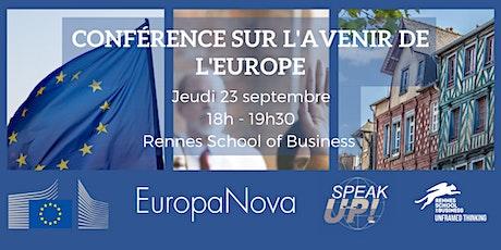 Conférence sur l'Avenir de l'Europe billets