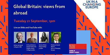 Global Britain: views from abroad tickets