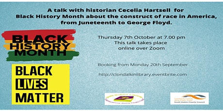 A talk with historian Cecelia Hartsell  for Black History Month tickets