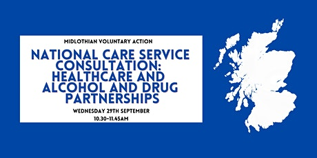 NCS Consultation: Healthcare and Alcohol and Drug Partnerships tickets