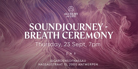 Sound & Breath Ceremony tickets
