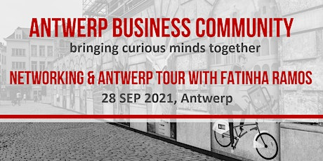 Networking & Antwerp tour with Fatinha Ramos tickets