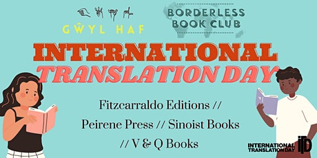 Borderless Books x Gŵyl Haf International Translation Day Festival tickets
