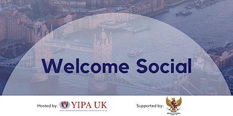 YIPA UK Welcome Social tickets