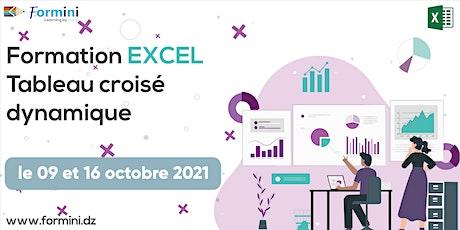 Formation EXCEL: Tableau Croisé Dynamique - oct 21 billets