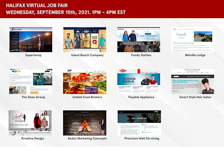 Nova Scotia Virtual Job Fair- September 15th, 2021 image
