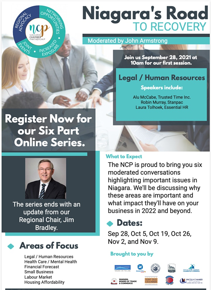Niagara's Road to Recovery - Legal / HR Session image
