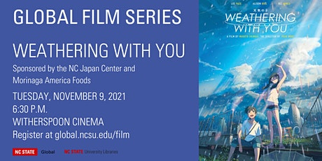 Global Film Series: Weathering With You tickets