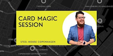Close-Up Card Magic Sessions biljetter