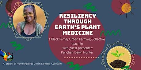 Black Families Urban Farming Collective teach-in:  Plant Medicine tickets