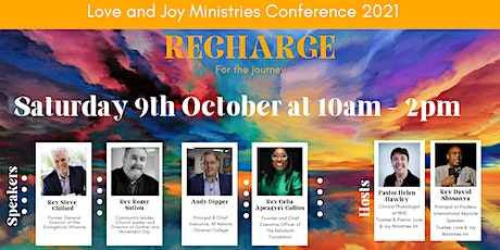 Love and Joy Ministries Conference 2021 - Recharge for the Journey tickets