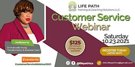 Customer Service Webinar 2021 entradas