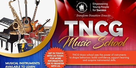 TNCG Musical Instruments Taster Day tickets