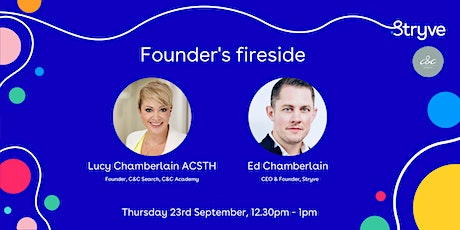 Stryve - Founder's fireside tickets