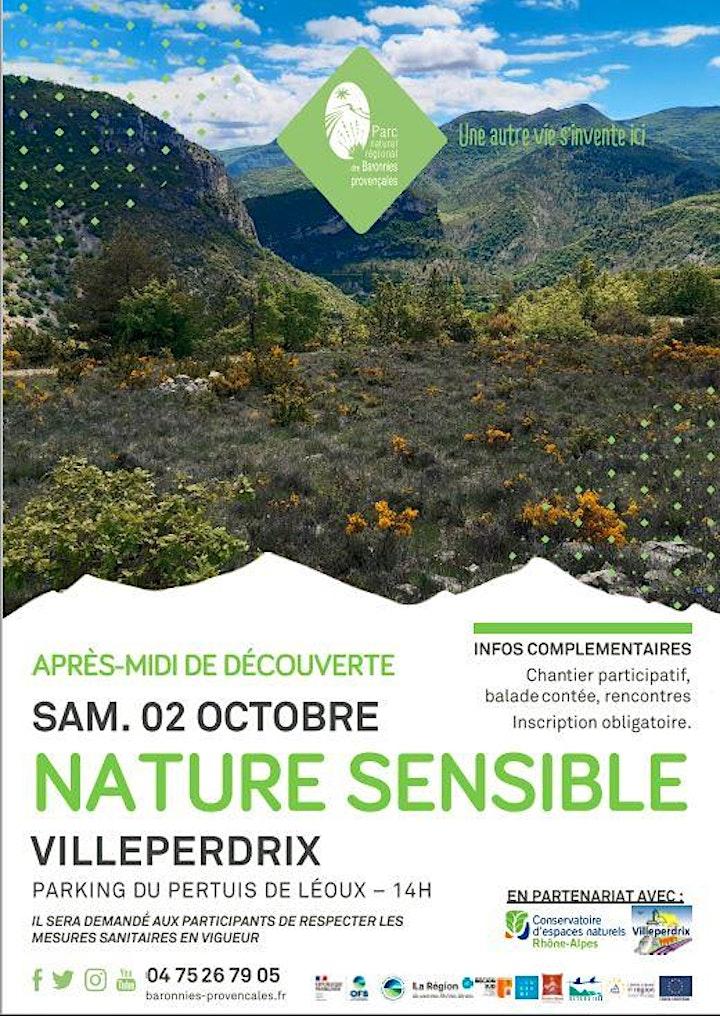 Image pour Nature Sensible Villeperdrix - Aprés-midi découverte