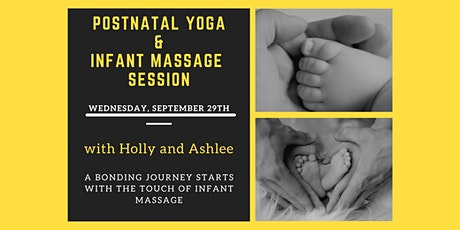 Postnatal Yoga and Infant Massage with Holly and Ashlee tickets