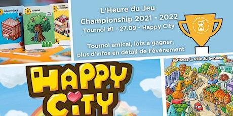 Tournoi Happy City billets