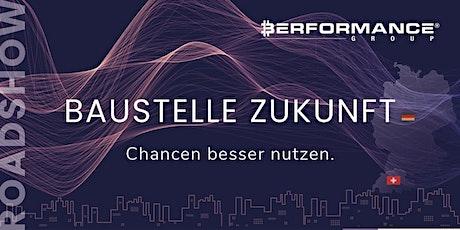 Baustelle Zukunft - Roadshow Zürich Tickets
