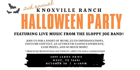 2nd Annual Halloween Bash at Knoxville Ranch tickets