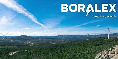Conférence avec Patrick Decostre de Boralex - 9 novembre à 12 h 15 - A-1600 billets