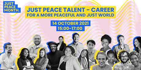 Just Peace Talent - Career for a more peaceful and just world tickets