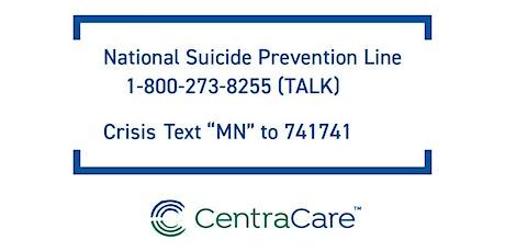 S.A.V.E. Suicide Prevention Training tickets
